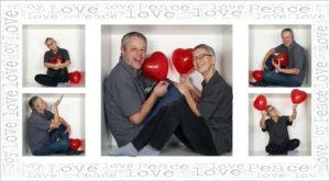 5 Bilder Box Valentine`s Day